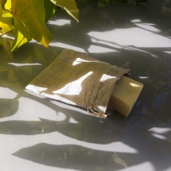 Étiquette verso - composition de la lessive naturelle de Vert chez-soi
