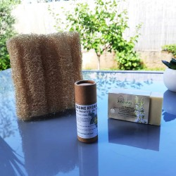 Etiquette savon noir tournesol bio Vert chez-soi
