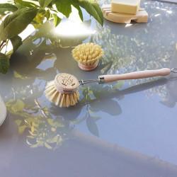 Brosse vaisselle et tête rechargeable